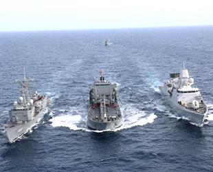 Doğu Akdeniz'deki askeri tatbikat nefes kesti