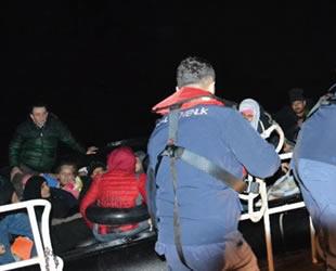 Kuşadası'nda 50 kaçak göçmen yakalandı