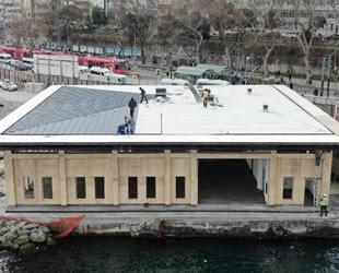 Kabataş'ta  'Meydan Düzenlemesi ve Transfer Merkezi Projesi'nde çalışmalar yeniden başladı