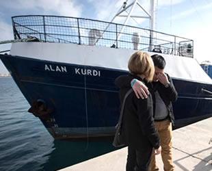 'Professor Albrecht Penck' isimli gemiye Alan Kurdi'nin adı verildi