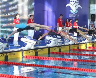 Uluslararası Türkiye Edirne Cup Yüzme Şampiyonası sona erdi