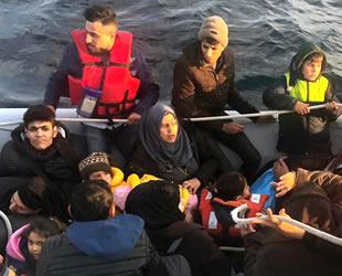 Didim'de 86 düzensiz göçmen yakalandı