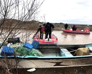 Balıkesir'de kayıp balıkçının teknesine ulaşıldı
