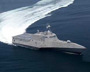 'USS Tulsa' isimli gemi, ABD Deniz Kuvvetleri'nin envanterine katıldı