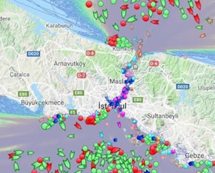 İstanbul Boğazı'nda transit gemi geçişlerinde aksama yaşanıyor