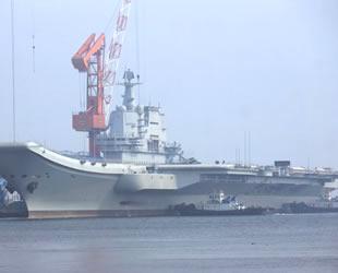 Çin'in ikinci uçak gemisi, son testlerini gerçekleştirecek