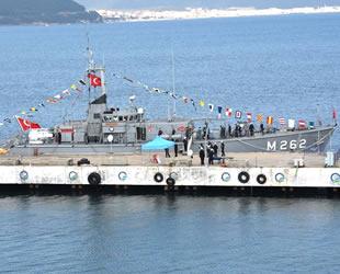'TCG Enez' gemisi, halkın ziyaretine açıldı