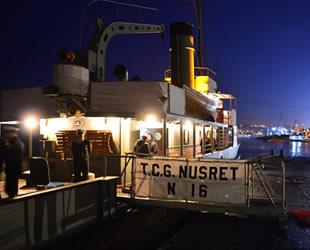 Nusret Mayın Gemisi, 104 yıl sonra aynı rotada görevini icra etti