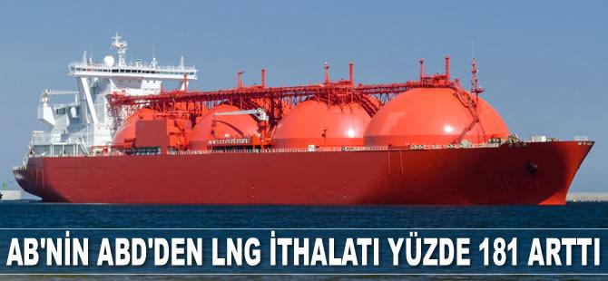 AB'nin ABD'den LNG ithalatı yüzde 181 arttı