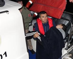 Kuzey Ege'de göçmenleri taşıyan tekne battı: 4 ölü