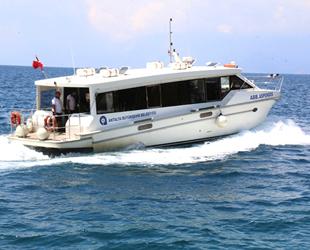 Antalya'da deniz otobüsleri, yaz tarifesine geçiyor
