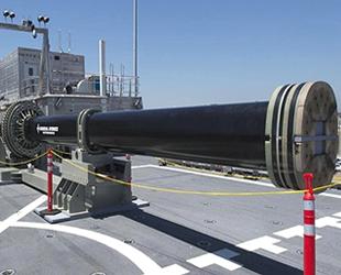 Çin, elektromanyetik topun deniz testlerini yaptı