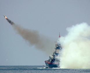 Rus gemileri, Karadeniz'de füze atışı yaptı