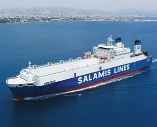 Salamis Lines, Limasol-Hayfa-Selanik limanları arasında ticari hat oluşturdu