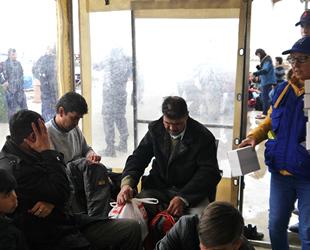 Çanakkale'de 123 düzensiz göçmen yakalandı