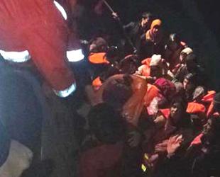 Enez'de 43 düzensiz göçmen yakalandı