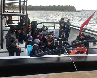 Didim'de 64 düzensiz göçmen yakalandı
