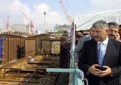 Marmaray'da imalat aşaması