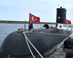 TCG Anafartalar Denizaltısı, Trabzon'da ziyarete açıldı