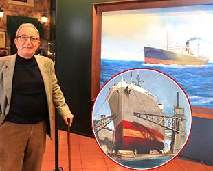 'Türk Armatörlerinin Buharlı Gemileri' sergisi açıldı