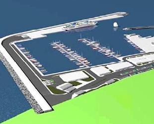 Güzelçamlı Yat Limanı 1 yılda tamamlanacak