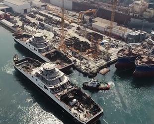 Sefine Tersanesi, 2 adet Ro-Ro gemisini suya indirdi