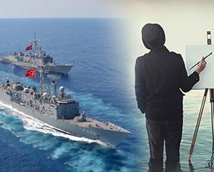 Deniz Kuvvetleri geleneksel resim yarışması sonuçlandı