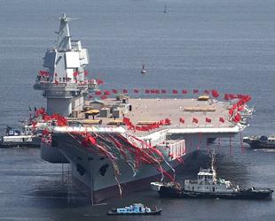 Çin, ilk yerli uçak gemisi ile gövde gösterisi yapacak