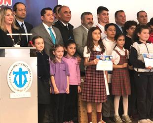 İMEAK DTO Aliağa Şubesi, öğrencileri ödüllendirdi