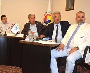 İMEAK DTO Antalya Şubesi Meclisi'nde 'Mavi Bayrak' ve 'Sıfır Atık' konuşuldu