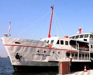 Zübeyde Hanım Eğitim ve Müze Gemisi, Türkiye'nin ilk yüzen kütüphanesi olacak