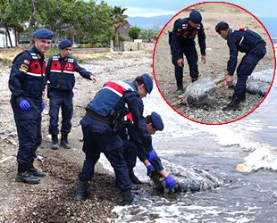 Batan teknedeki 140 kilogram uyuşturucu kıyıya vurdu