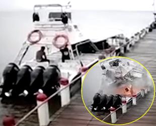 'Saeta I' isimli lüks yatın yakıt tankında patlama: 1 ölü, 2 yaralı