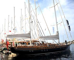 Lüks tekneler, Bodrum'da görücüye çıktı