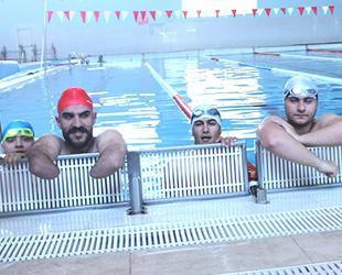 Engelli yüzücüler, Türkiye Şampiyonluğu'nu hedefliyor