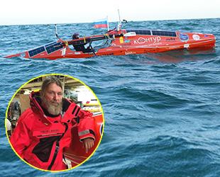 Rus gezgin Fyodor Konyuhov, Büyük Okyanus'u deniz küreğiyle geçti