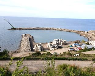 Denizkonak Balıkçı Barınağı'nın yüzde 70'i tamamlandı