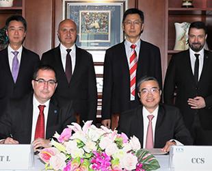 Türk Loydu, Çin'in milli klas kuruluşu ile işbirliği anlaşması imzaladı