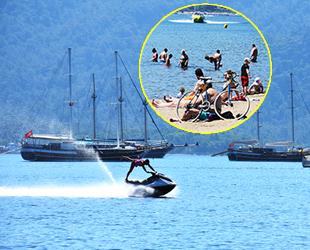 Antalya ve Muğla'da sahiller yabancı turistlere kaldı