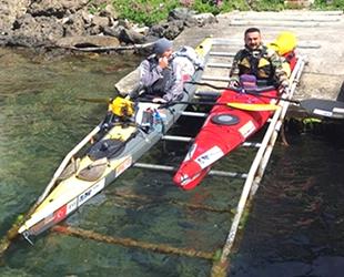 Ata'nın izinde kanoyla 635 kilometre yol katettiler
