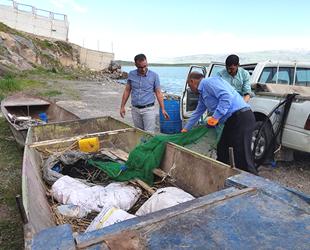 Van'da inci kefali balığı için sıkı denetimler sürüyor