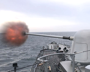 Denizkurdu-2019'da su üstü hedef atışları başarı ile yapıldı