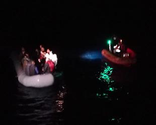Bodrum'da 43 düzensiz göçmen yakalandı