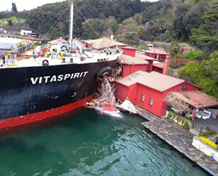Hekimbaşı Salih Efendi Yalısı'na çarpan geminin sahibi zarara karşılık 206 milyon lira yatıracak