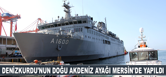 Denizkurdu-2019 Tatbikatı'nın Doğu Akdeniz ayağı Mersin'de yapıldı