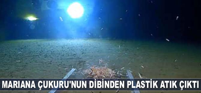 Mariana Çukuru'nun dibinden plastik atık çıktı