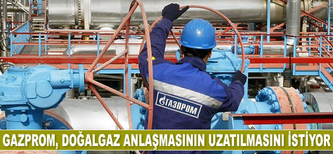 Gazprom, Türkiye'den doğalgaz anlaşmasının uzatılmasını istiyor