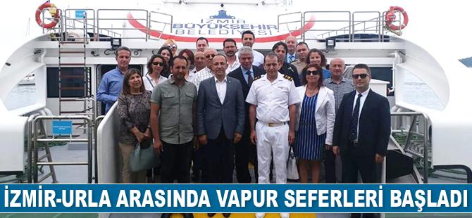 İzmir-Urla arasında vapur seferleri başladı