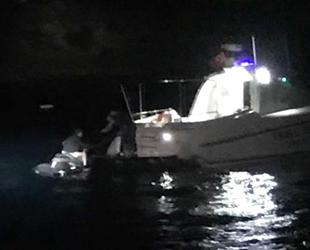 Jet-ski ile Türk karasularına giren İsveçli turisti Sahil Güvenlik yakaladı