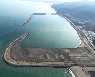 Filyos Limanı'nın yüzde 80'i tamamlandı
